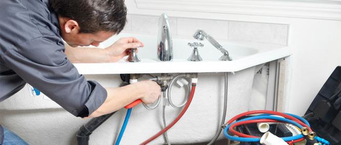 manutenção da banheira